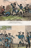 Fort of St Etienne attacks - Bonaparte - General Meynier - Koenigstein - 1793