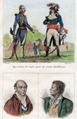 French Revolution -  Representative on mission - National Convention - 1795 - Portraits - Chalier (1747-1793) - Dubois-Crancé (1747-1814)
