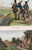 Military exploring - Observation - View of Salinas de Gipuzkoa (Spain) - Basque Country
