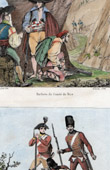 French Revolution - Barbet of Comt� de Nice - 1793 - Austrian Army - Croats