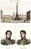 Old Column on the Place du Chatelet in Paris (1858) - Portraits - Dejean (1780-1845) - Philippe de Ségur (1780-1873)