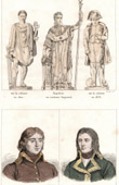 Statues of Napoleon Bonaparte - Colonne Vend�me - Paris - Portraits - Beaupuy (1755-1796) - Abbatucci (1771-1796)