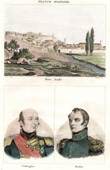 View of Nafplio (Greece) - Portraits - Edward Codrington (1770-1851) - Login Geiden Count van Heyden (1773-1850)