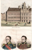 View of Antwerp - City Hall - Scheldt (Belgium) - Portraits - Étienne Maurice Gérard (1773-1852) - David Chassé (1765-1849)