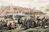 (Algeria) - Siege of Constantine (1837) - Death of General Damr�mont
