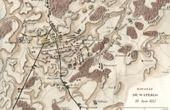 Carte - Champ de Bataille de Waterloo - Belgique (18 juin 1815)