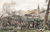 Napoleonic Wars - Campaign of France - Battle of M�ry-sur-Seine (1814) - Champagne-Ardenne