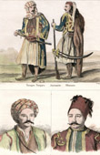 Turkish Costume - Turkish Fashion - Uniform - Turkey - Portraits - Fabvier (1782-1855) - Soliman Pacha (1788-1860)