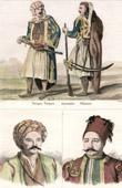 Turkish Costume - Turkish Fashion - Uniform - Turkey - Portraits - Fabvier (1782-1855) - Soliman Pacha (1788-1860)