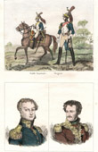 Napoleonic Soldier - Uniform - Imperial Guard - Portraits - Cambronne (1770-1842) - Daumesnil (1776-1832)