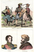 Greece - Military costumes - Soldiers - Portraits - Alexander Cochrane (1758-1832) - Reşid Mehmed Pasha (1780-1839)