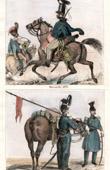 Costume Français - Uniforme Militaire (1833) - Hussard - Lancier
