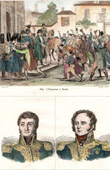 Napoleon Bonaparte in Reims (1814) - Campaign of France - Portraits - Barbanègre (1772-1830) - Berckheim (1775-1819)