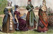Costume Traditionnel - Espagne - Bourgeoisie