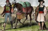 Spanish Traditional Costume - Catalonia - Valence (Spain)