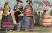 Traditional Costume - Bolivia - Sucre - Chuquisaca (19th Century - XIXth Century)