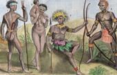 Folkdr�kt - Australien - Vanikoro - Santa Cruz�arna - Salomon�arna