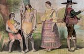 Traditionelle Kleidung - Bolivien - Guaracas - La Paz (19. Jahrhundert - XIX. Jahrhundert)