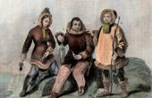 Eskimo - Traditionelle Kleidung - Russisch-Amerika - Alaska
