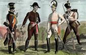 Uniformes Militaires Autrichiens - Autriche - Officier - Infanterie - Houssard