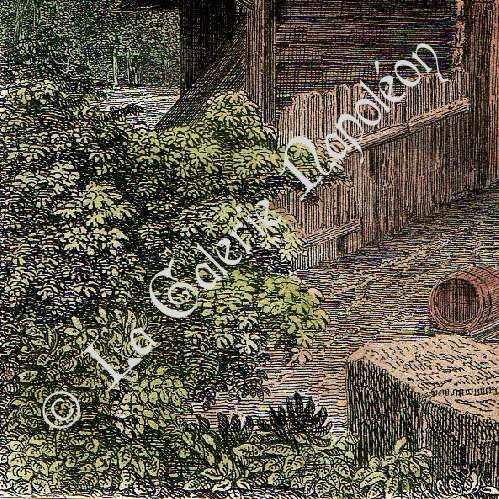 Gravures anciennes vue de lausanne ch teau fort canton de vaud suisse gravure en - Certificat d heredite avec porte fort ...