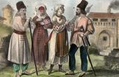 Traditionelle Kleidung - Rum�nien - Bukowina - Palatinat de Marmaros