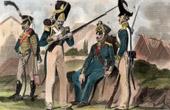 Fatos Militares Alem�es - Uniforme - Alemanha - Hussardo - Infantaria - Granadeiro