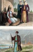 Traditionelle Kleidung - Syrien - Damaskus - Armenischer Priester in Jerusalem (Heiliges Land)