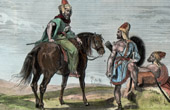 Cavalry and Arab Infantryman (Holy Land)