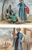 Jewish doctor - Jewish Merchant - Arab Merchant (Holy Land)