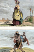 Twelve Tribes of Israel - Young Girl of the Tribe of Israel - Hunter (Holy Land)