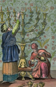 Menorah - The Golden Candlestick - Tabernacle