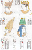 Ancient Egypt - Hieroglyphs - Nubia