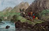 Flodh�st Jakt i Abessinien (Etiopien)