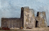 Temple at Naqa - Naga'a - Kingdom of Kush - Nubia (Sudan)