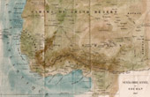 Gammalt Kartl�gga - Senegal - Gambia - Guinea - Sudan