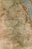 Antique Map - Nubia - Egypt - Sudan - Ethiopia