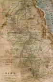 Antique Map - Nubia - Egypt - Sudan - Ethiopia