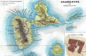 Alte Plan - Frankreich - Guadeloupe (Pointe-�-Pitre - La Soufri�re)