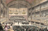 History and Monuments of Paris - A Meeting in the Room of the Academy of Music
