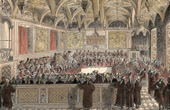 History and Monuments of Paris - The Parlement in 1787