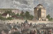 French Revolution - Return of the Royal family to Paris after the Arrest in Varennes (June 25, 1791)