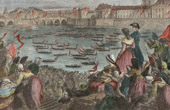 French Revolution - Naval Tournament on the Seine (1790) - Fête de la Fédération