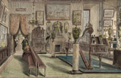 History and Monuments of Paris - Museum of Decorative Arts - Pavillon de Flore - Salon of Furniture
