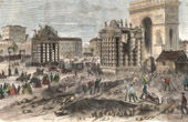 Monuments of Paris - Demolition of the old Barriers of Paris