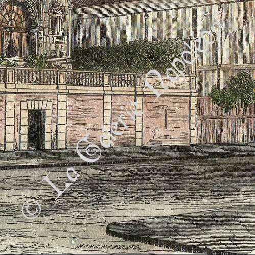 Gravures anciennes monuments de paris champs elys es - Cours menuiserie paris ...