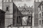 View of Rome - Porta del Popolo - Piazza del Popolo - Obelisco Flaminio (Italy)