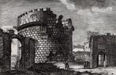 View of Rome - Caecilia Metela's Mausoleum (Italy)