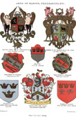 Coat of Arms - Heraldry - Freemasonry - Bricklayers and Tilers - Grand Lodge of England - Cologne - Nuremberg - Strasbourg - York