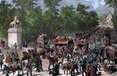 Champs-Elys�es - The Franco-Prussian War (1870) - Siege of Paris